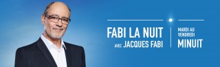 Avec Jacques Fabi - Fabi la nuit - Derniers extraits audio