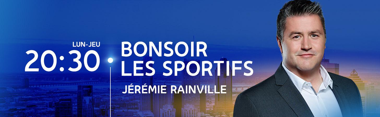Avec Derek Aucoin, Jérémie Rainville et Yanick Bouchard - Bonsoir les sportifs - Derniers extraits audio