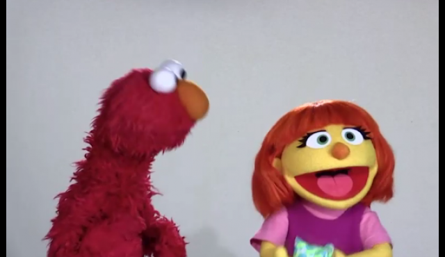 Sesame Street Introducing Character with Autism