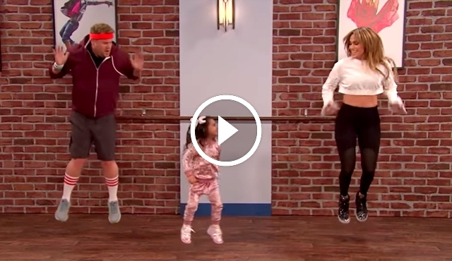 J-Lo gets SCHOOLED on the Dance Floor by Toddlers