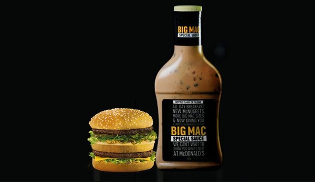 McDonald's commercialise la fameuse sauce du Big Mac.