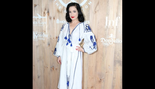 Dita Von Teese: 'I wear head to toe body makeup at burlesque shows'