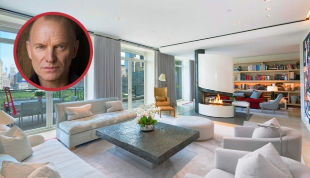 Sting's New York Penthouse is For Sale