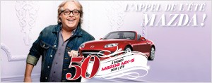 L'appel de l't Mazda avec Rythme FM 50 Mazda MX-5  gagner pour l't