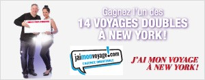 J'ai mon voyage  New York