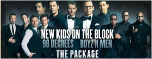 Une soire entre filles! NKOTB, 98 Degrees et Boyz II Men runis au Centre Bell!