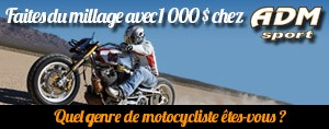 Faites du millage avec 1 000 $ chez ADM Sport!