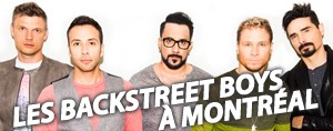 Les Backstreet Boys... � Montreal