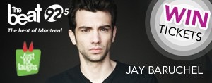 Beat Fan Club Member? Win Tickets to see JAY BARUCHEL