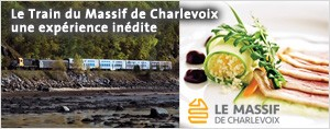 Le Train du Massif de Charlevoix : Une exp�rience in�dite!