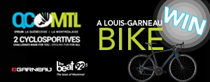 WIN A NEW LOUIS GARNEAU BIKE!