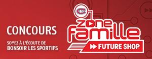 Gagnez vos billets pour la Zone Famille Future Shop