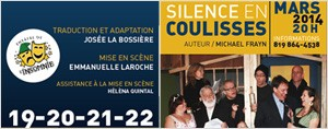 Silence en coulisses !