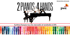 Beat Fan Club Member: See The Centaur Theatre's 2 Pianos 4 Hands