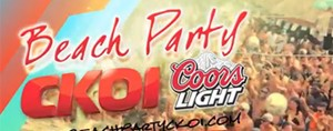 Beach Party CKOI Coors Light