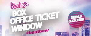 THE BEAT BOX OFFICE TICKET WINDOW - Usher