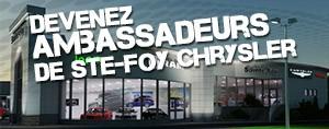 Devenez Ambassadeur de Ste-Foy Chrysler