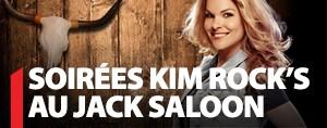 SOIR�E KIM ROCK'S AU JACK SALOON