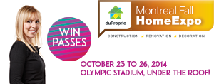 Beat Fan Club Member? Win passes to The Montreal Fall Home Expo