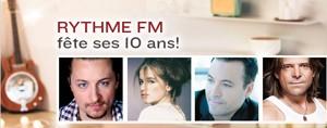Rythme FM f�te ses 10 ans avec vous!