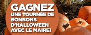 Gagnez une tourn�e de bonbons d'Halloween avec le maire!