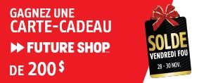Vendredi Fou avec Future Shop!