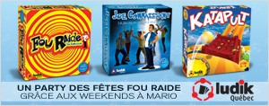 UN PARTY DES F�TES FOU RAIDE GR�CE AUX WEEKENDS � MARIO