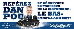 Le Bas-Saint-Laurent, découvrez le meilleur de la motoneige!