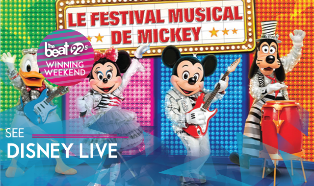 WINNING WEEKEND see Disney Live - Mickey's Music Festival