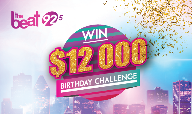 The Beat Birthday Challenge: WIN $12,000 Dollars
