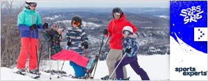 Sors et skie avec Sports Experts et Rythme FM 105.7