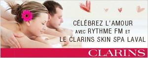 La Saint-Valentin et Le Skin Spa Clarins!