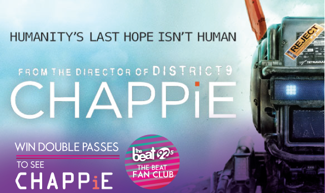BEAT FAN CLUB MEMBER: Your passes for the movie CHAPPiE