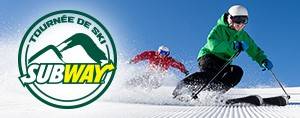 Tourn�e de ski Subway