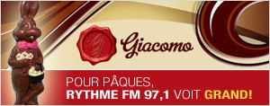 Pour P�ques, Rythme FM 97,1 voit GRAND!