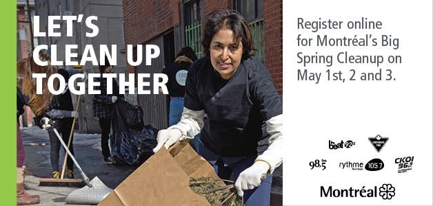 Clean-up Montreal Campaign