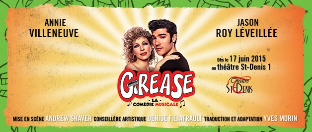 Comedie Musicale Grease Voyez Grease la Comédie