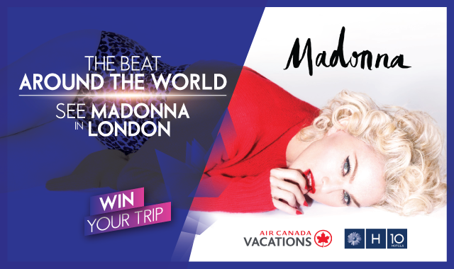 MADONNA LIVE - in LONDON!