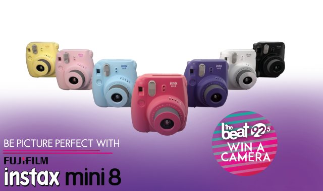 Picture Perfect with FUJIFILM INSTAX MINI 8 CAMERA