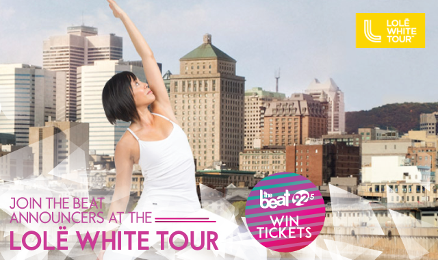 WIN tickets to Lol� White Tour Montreal