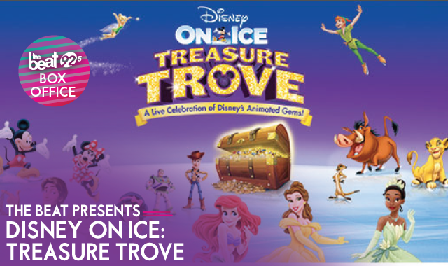 The Beat Presents - Disney On Ice: Treasure Trove