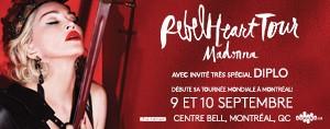 Gagnez vos billets pour voir Madonna