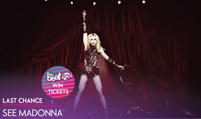 LAST CHANCE to see MADONNA