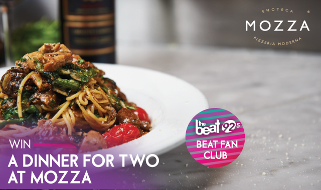 Beat Fan Club Member? WIN Dinner for Two at Mozza