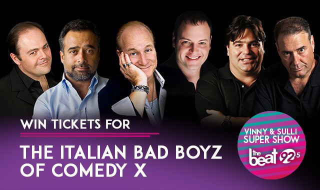 Italian Bad Boyz of Comedy X