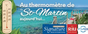 Au thermom�tre de St-Martin!