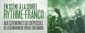 En sc�ne � la soir�e Rythme-Franco
