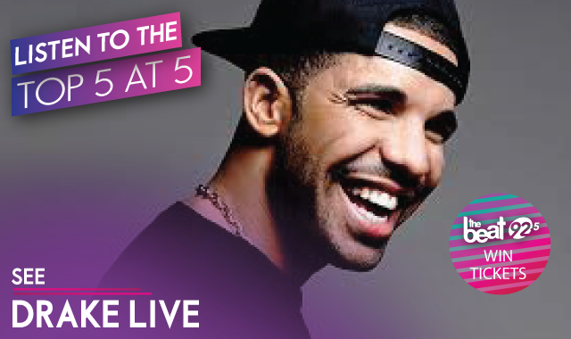 WIN Tickets to see Drake