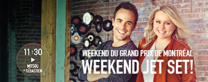 Weekend du Grand prix de Montr�al, weekend jet set!