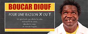 Boucar Diouf � l'�toile Banque Nationale  Pour une raison X ou Y